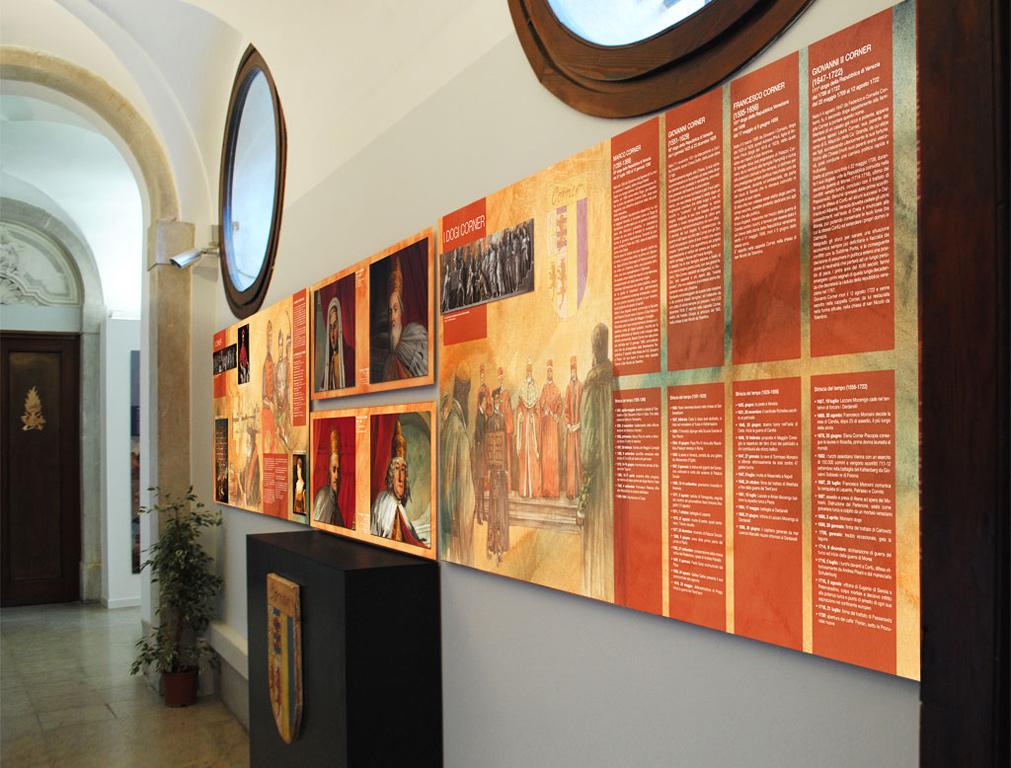 Allestimento a Palazzo Corner Mocenigo