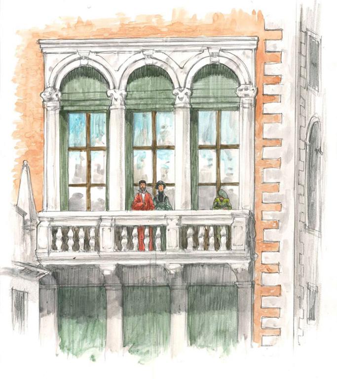 Allestimenti tostapane studio, grafica, Palazzo Ducale,Venezia
