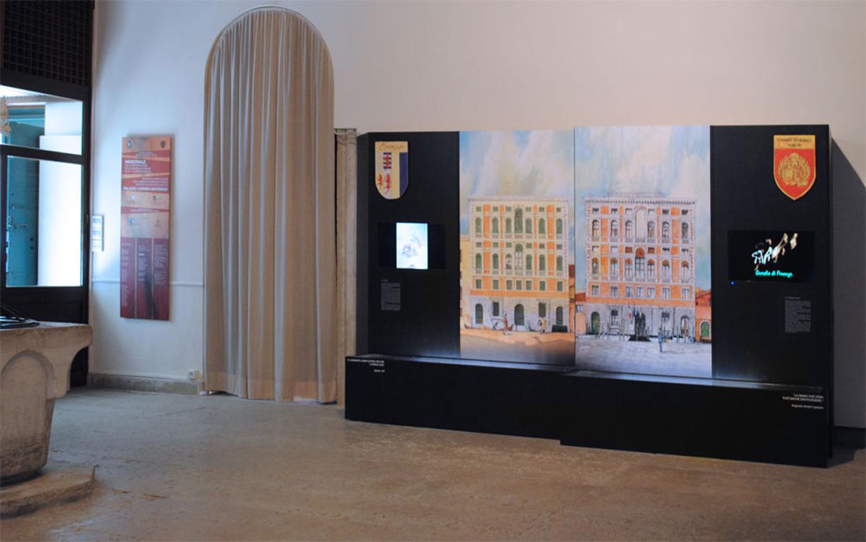 Allestimenti, studio tostapane a Palazzo Ducale,Venezia