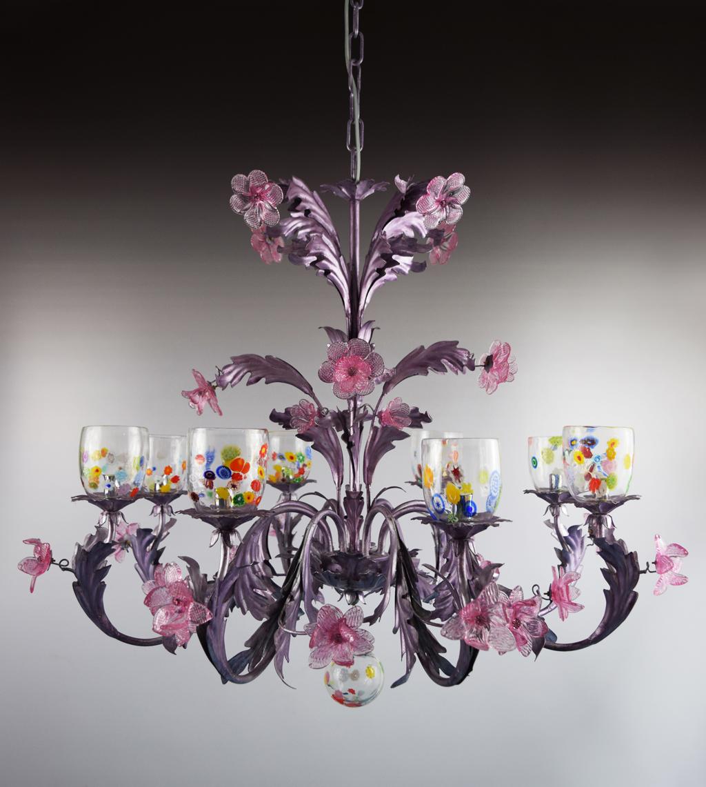 still life, lampadari, vetro di murano